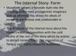 the internal story form