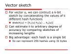 vector sketch