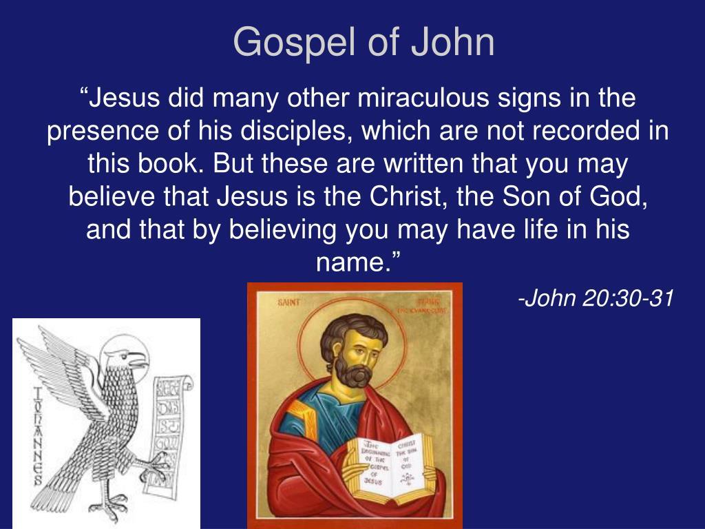 gospel of john l.