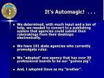 it s automagic