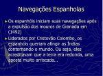 navega es espanholas