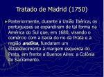tratado de madrid 1750