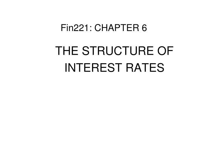 fin221 chapter 6 n.