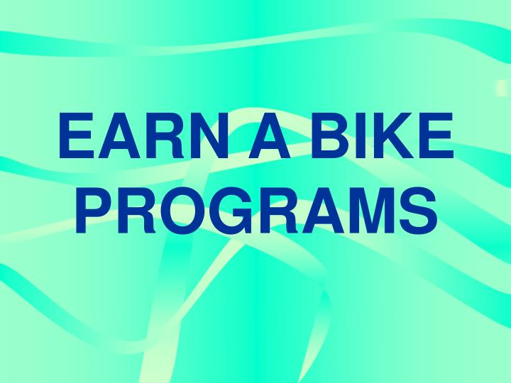earn a bike programs n.