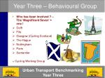 year three behavioural group1