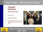 year three behavioural group13