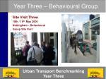 year three behavioural group4