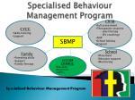 specialised behaviour management program1