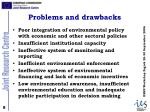problems and drawbacks