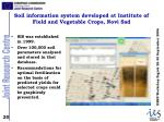 soil information system developed at institute of field and vegetable crops novi sad