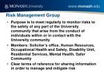 risk management group
