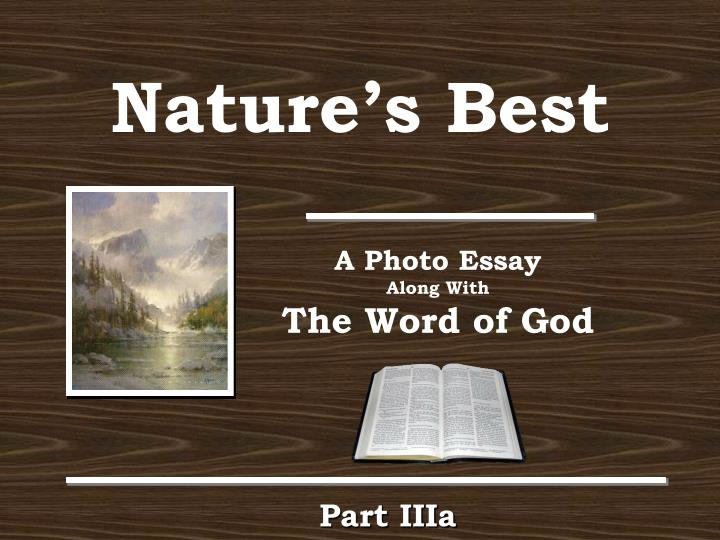 nature as god essay Nature in king lear - free download as pdf file (pdf), text file (txt) or read online for free this essay is very helpful for ma english students shakespeare's masterpiece is his play king lear.