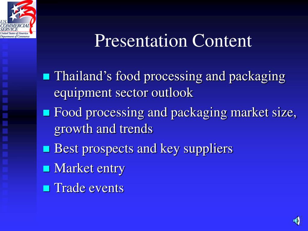 Presentation Content