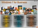 windows 7 for business