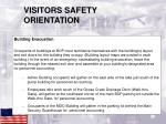 visitors safety orientation2