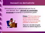 inovacii vo derivativite