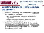 labelling solutions how to reduce the burden7