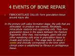 4 events of bone repair1