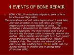 4 events of bone repair2