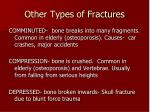 other types of fractures