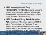 fda historic milestones1