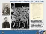 yellow fever commission cuba 1900