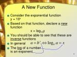 a new function
