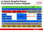 le havre hospital group a full oracle fusion hospital