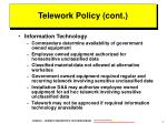 telework policy cont1