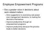 employee empowerment programs