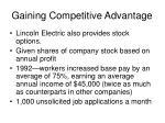 gaining competitive advantage2