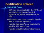 certification of need1