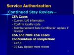 service authorization7