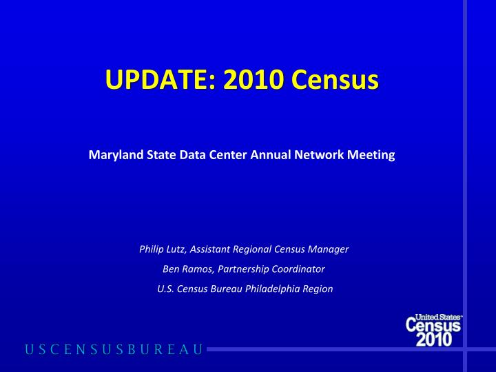 update 2010 census n.