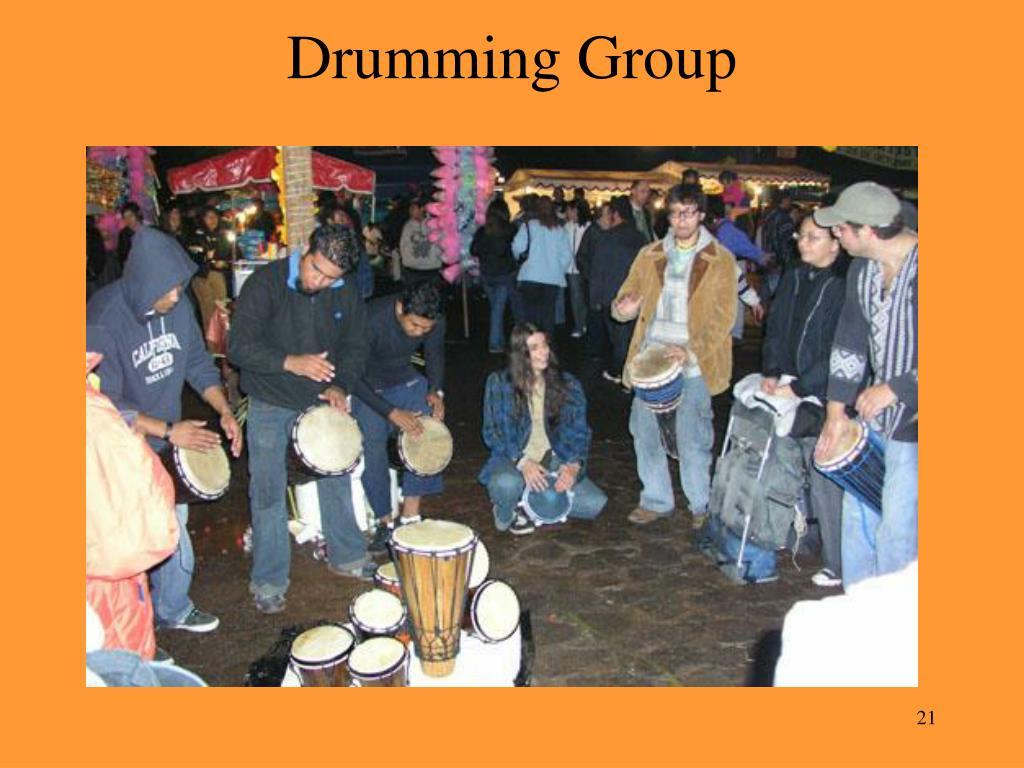 Drumming Group