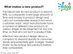 what makes a new product4