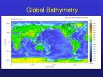 global bathymetry