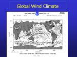 global wind climate