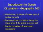 introduction to ocean circulation geography 1631