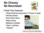 be choosy be nourished24