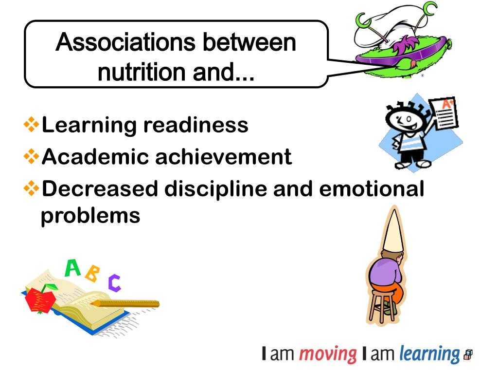 Associations between nutrition and...