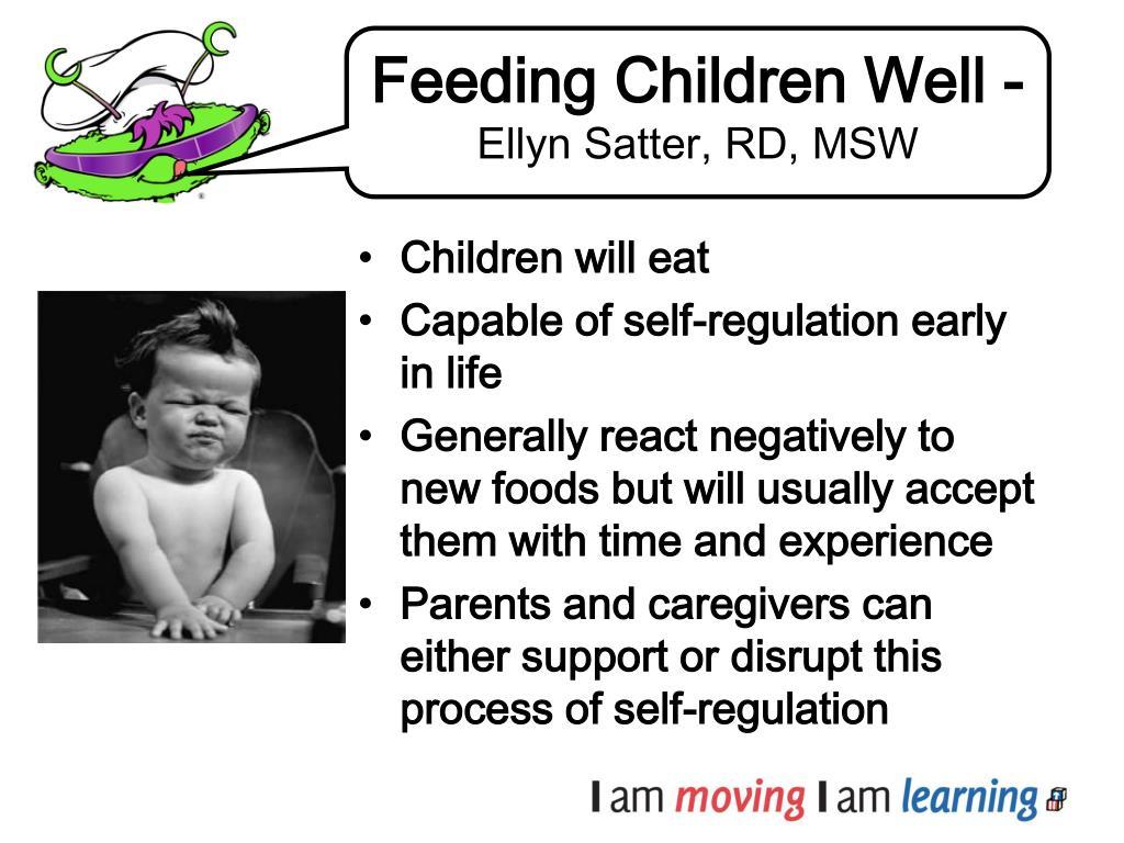 Feeding Children Well -