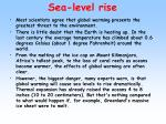 sea level rise1