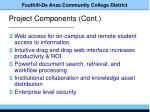 project components cont