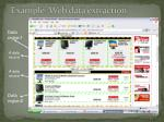 example web data extraction
