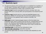 8 1 quarterly report