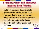 bringing gdp and national income into accord6