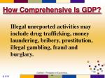 how comprehensive is gdp3
