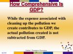 how comprehensive is gdp8