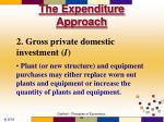 the expenditure approach12